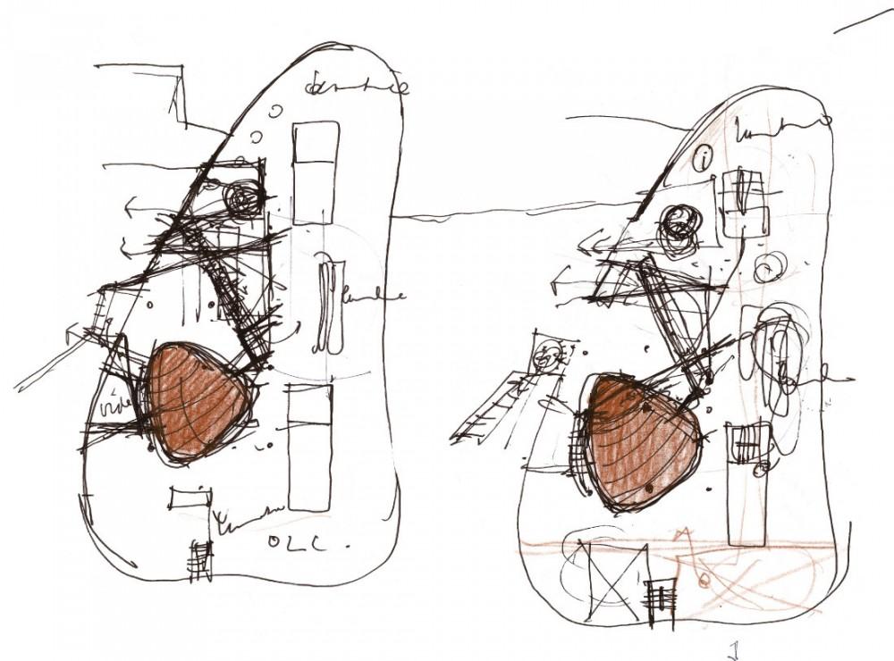 Architecture photography floor plans sketch 86547 for Floor plan sketch