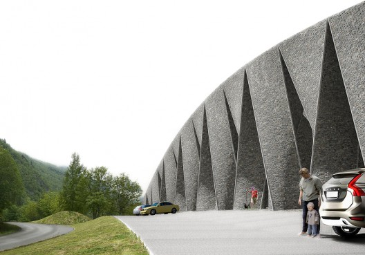 Tourist Stop Hardanger Fjord / Huus Og Heim Architecture