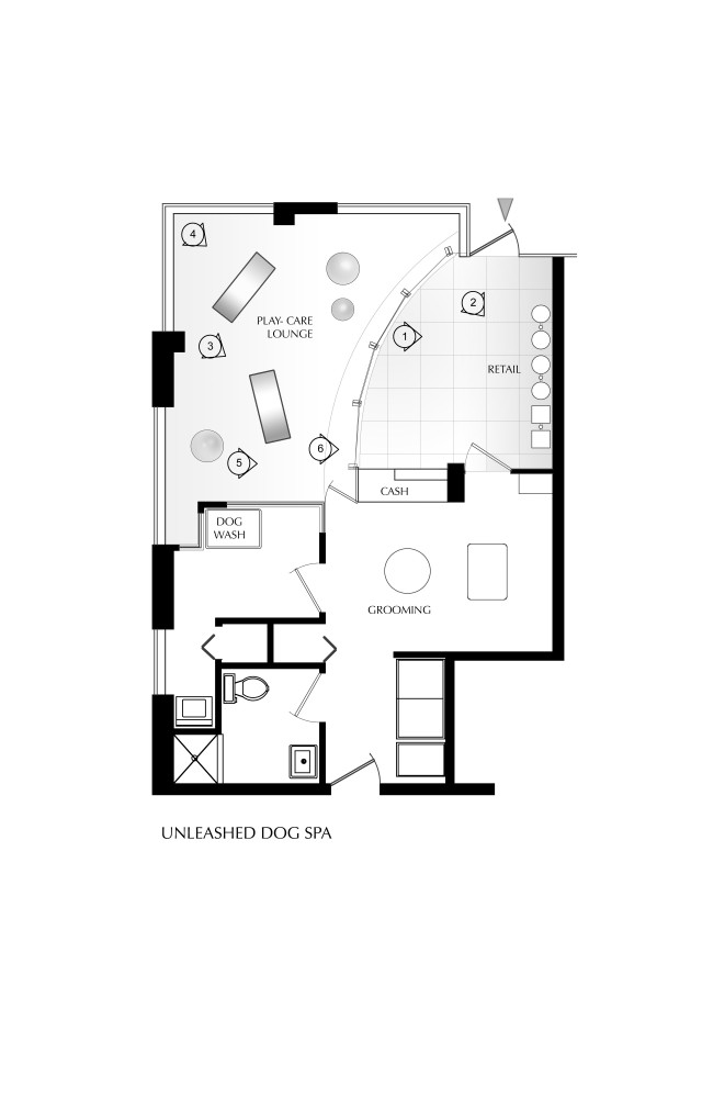 Architecture photography floor plan 86692 for Salon layout plans