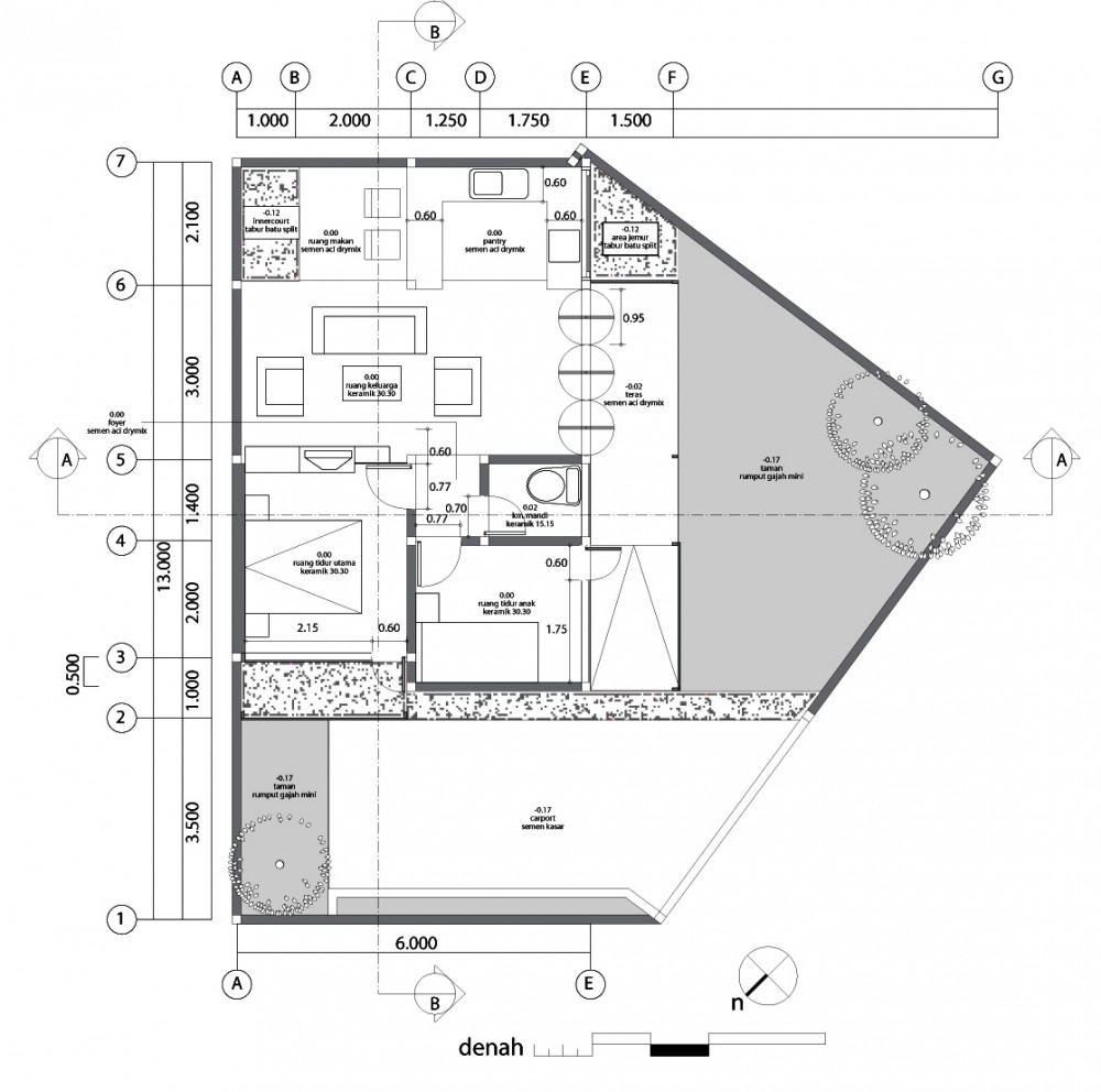 Architecture photography site plan 86739 Home site plan