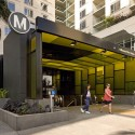 Hollywood and Vine Metro Portal and Plaza / Rios Clementi Hale Studios © Tom Bonner