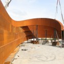 Design Museum Holon / Ron Arad Architects Construction Process © Marzorati Ronchetti