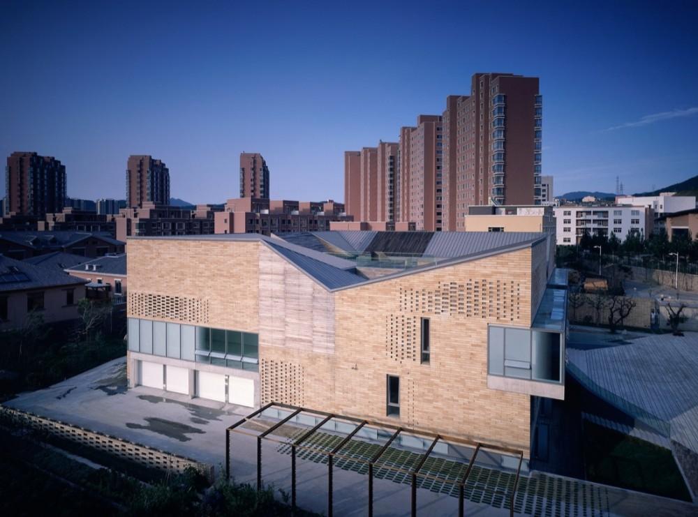 The concave house tao lei architect studio blue ant for Studio 11 architecture