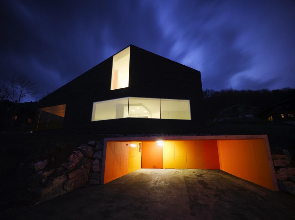 Martinho Les Neyres Residence - Bonnard Woeffray Architectes © Hannes Henz
