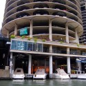 Marina City marina © Flickr User: reallyboring