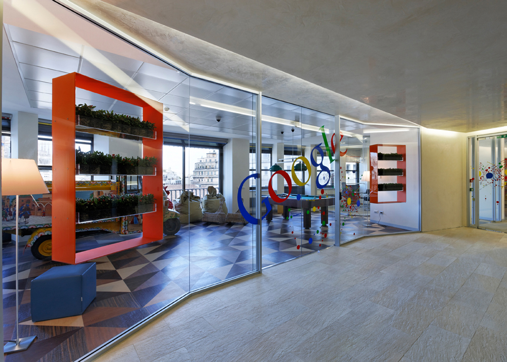Google Offices in Milan / AMA – Albera Monti & Associati