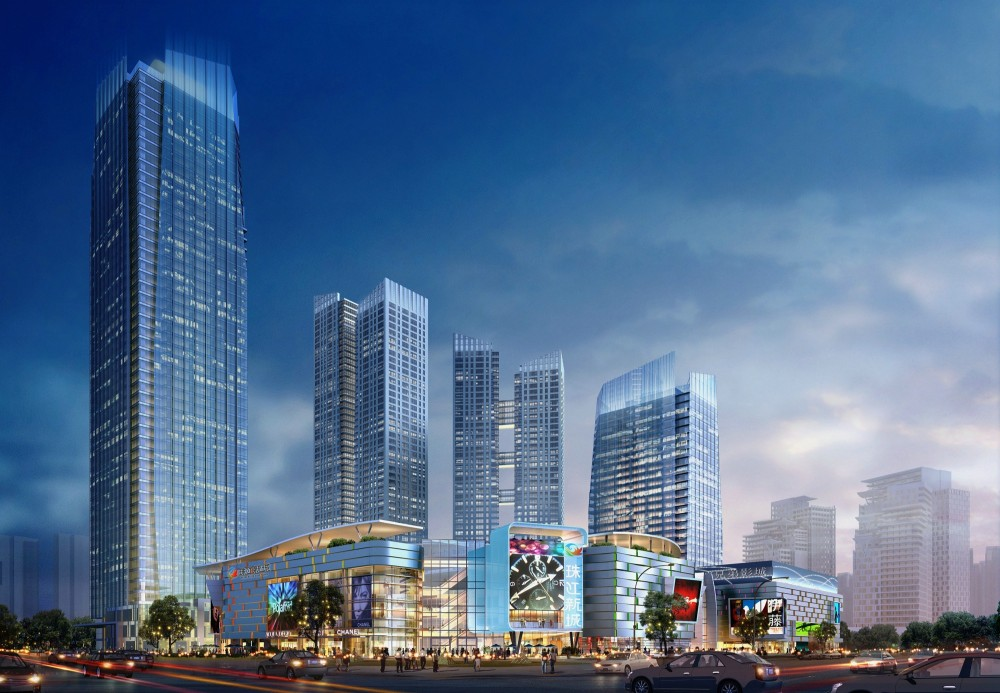 New Chengdu City Center / RTKL