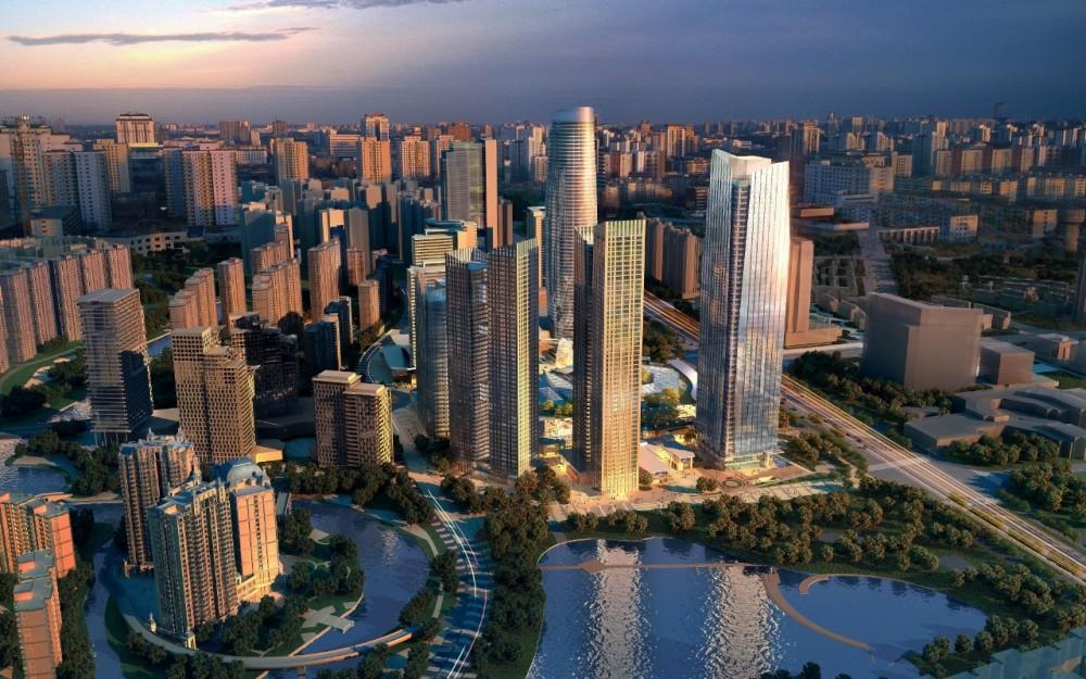 New Chengdu City center