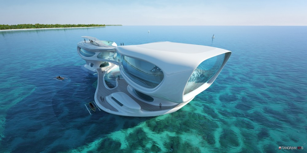 Marine Research Center in Bali / Solus 4