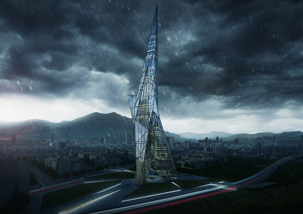 Taiwan Tower Design Competition / OODA + OOIIO