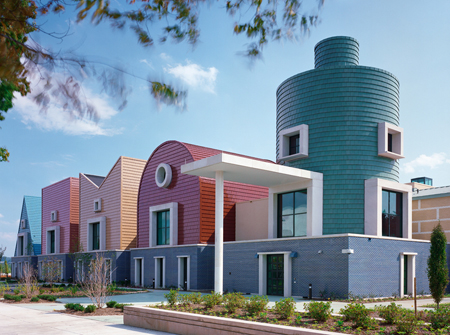 Ad classics st coletta school michael graves archdaily for Ad architects