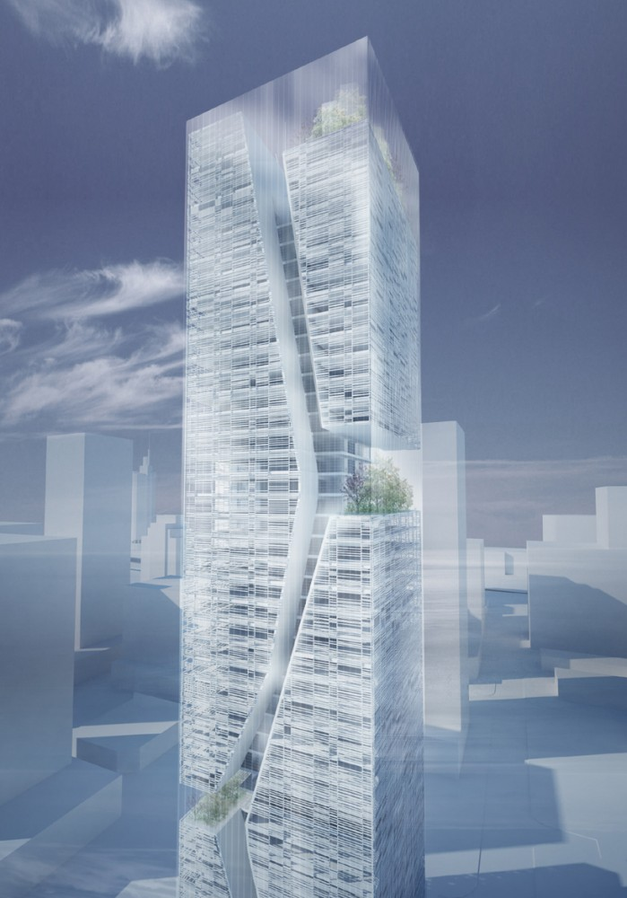 Guosen Securities Tower / Massimiliano + Doriana Fuksas
