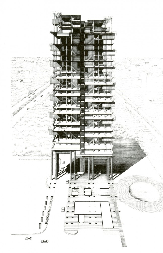 AD Classics: The Colonnade Condominiums / Paul Rudolph