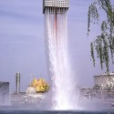 Osaka World Expo 1970 Fountain design by Isamy Noguchi