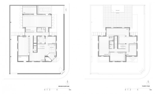 building plans in ghana. ground amp; first floor plans