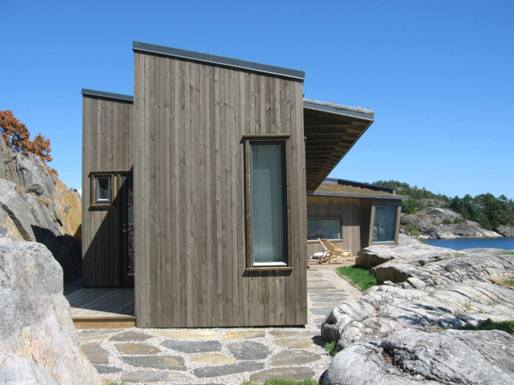 Buholmen Cottage / SKAARA Arkitekter AS