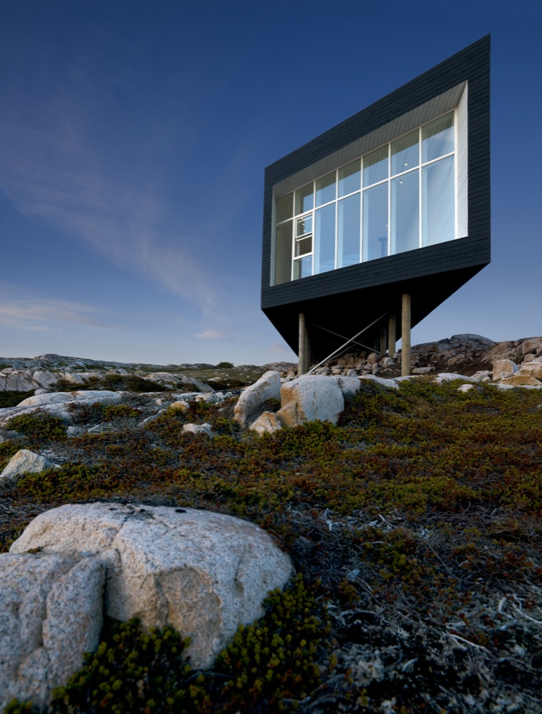 Fogo Island Long Studio / Saunders Architecture
