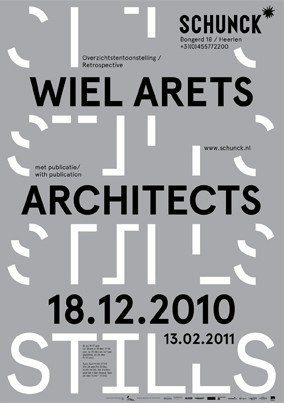 STILLS: A Wiel Arets Architects exhibition