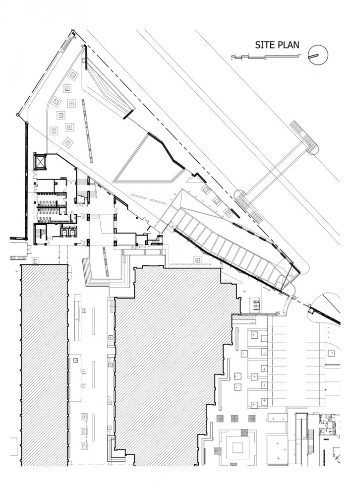 Architecture Photography: site plan (96020)