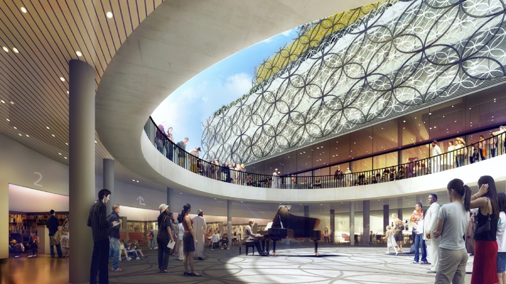 New images for Mecanoo&#8217;s Library of Birmingham