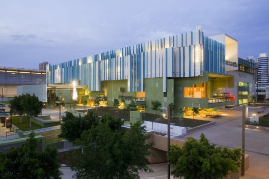 Ad round up libraries part vi archdaily for Queensland terrace state library