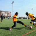 Football Training Centre Soweto / RUFproject © Allan James