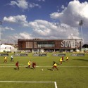 Football Training Centre Soweto / RUFproject © Julian Abrams