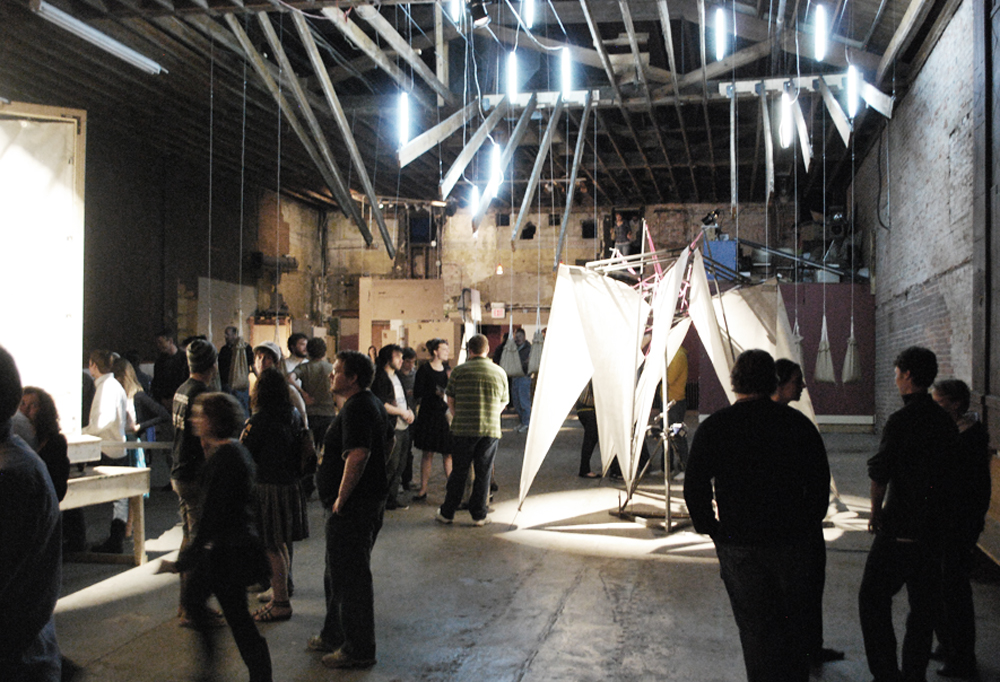 Salvaged Layers; A Collaborative Site Specific Performance