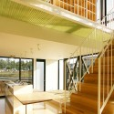 House With Midair Living / StudioGreenBlue © StudioGreenBlue