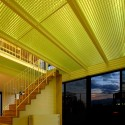 House With Midair Living / StudioGreenBlue  StudioGreenBlue