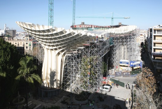 update metropol parasol j mayer h architects archdaily. Black Bedroom Furniture Sets. Home Design Ideas