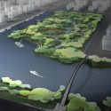 logon Qingpu wetland_birdview2 Courtesy of logon architecture