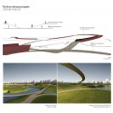 logon Qingpu wetland_three-dimensional paths Courtesy of logon architecture