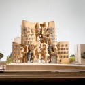 1-to-100_East-Elevation-550px East elevation, model scale: 1-to-100 / Gehry Partners, LLP