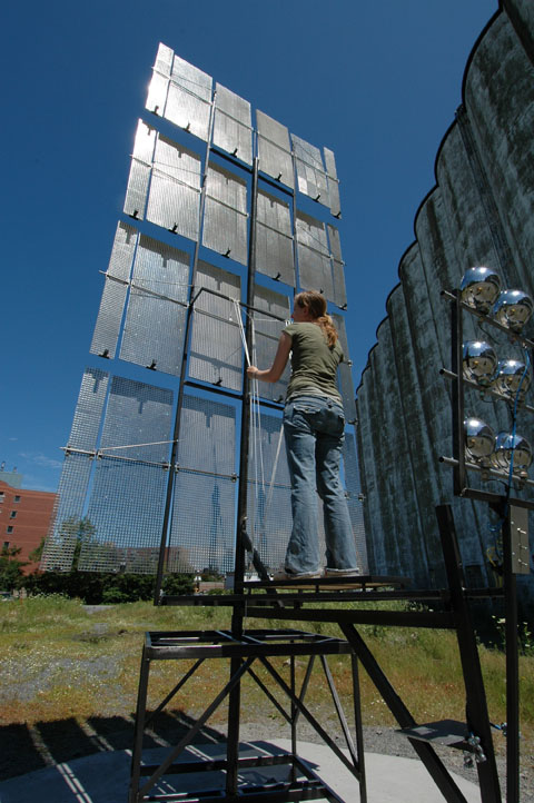 Light Screen Installation