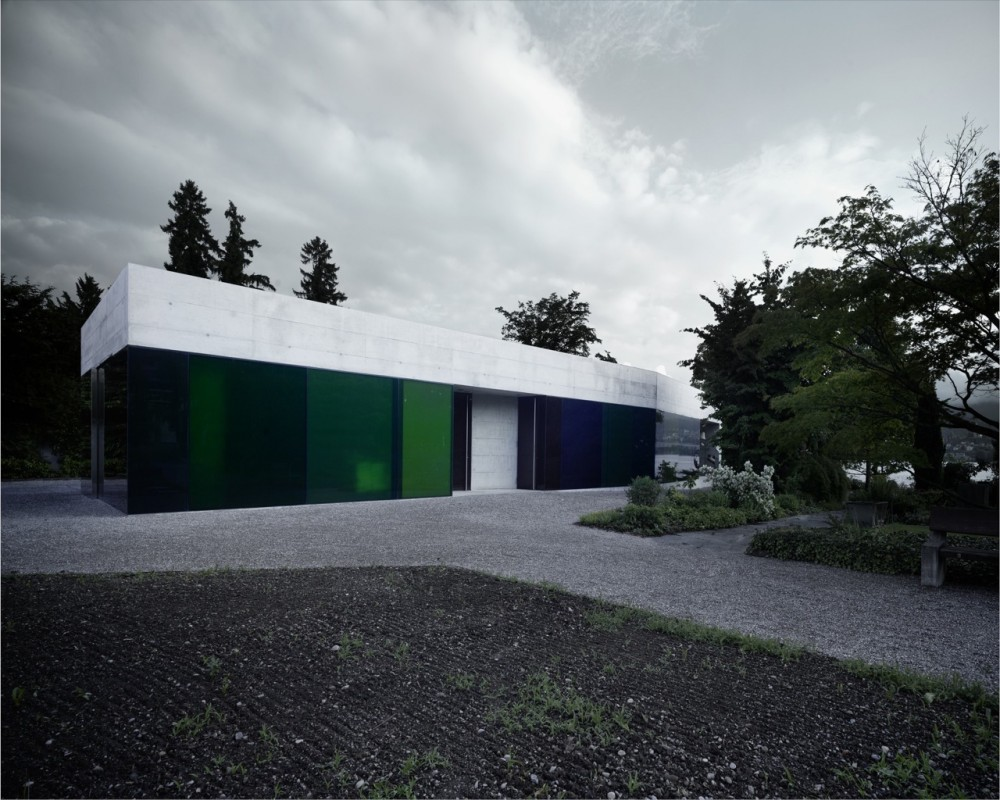Erlenbach Cemetery Building / AFGH