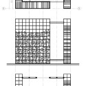 WOODPILE / Noa Biran + Roy Talmon (8) plan + section + elevation