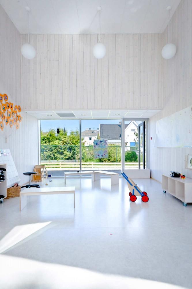 Architecture Photography Solrosen Kindergarten Stein