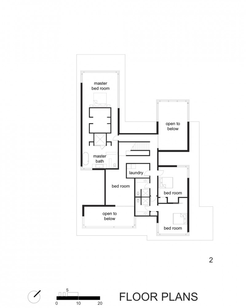 Architecture Photography Second Floor Plan 101244