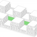 A101 Urban Block Competition Six of a Kind / CIE and SVESMI (05) axonometric 01