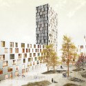 A101 Urban Block Competition Tower Block/ CIE and SVESMI (06) Courtesy of CIE and SVESMI