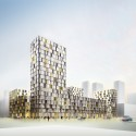 A101 Urban Block Competition Tower Block/ CIE and SVESMI (07) Courtesy of CIE and SVESMI