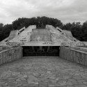 Forgotten Monuments From the Communist Era in Bulgaria memorial complex hillock of fraternity, Plovdiv, 1974