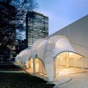 United Nations Porte Cochere / FTL Design Engineering Studio © Woodruff/Brown Architectural Photography