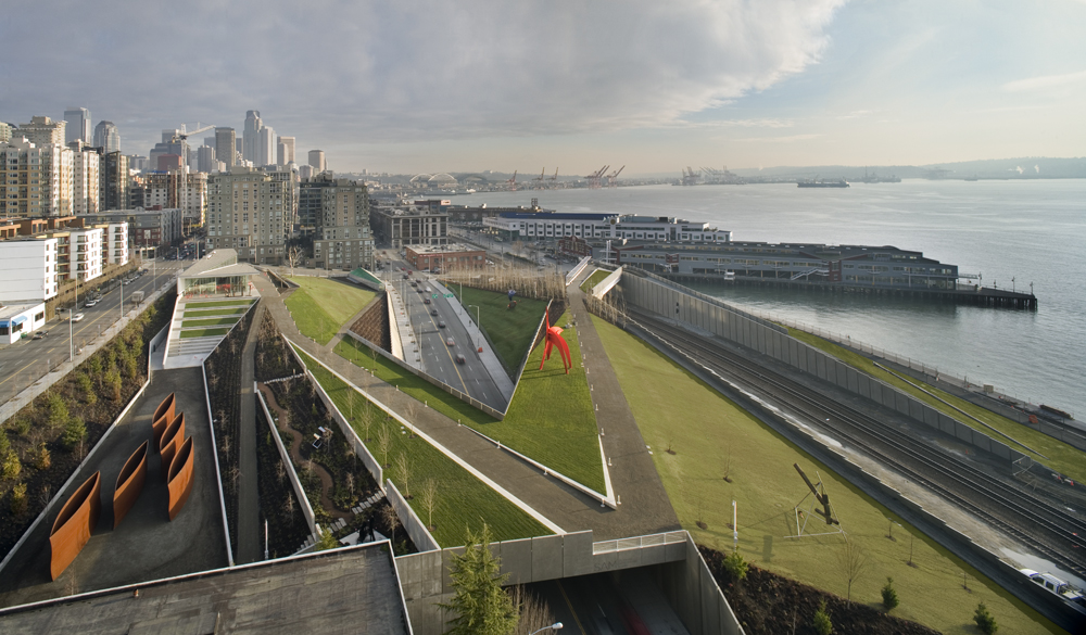 Olympic Sculpture Park Weiss Manfredi Archdaily