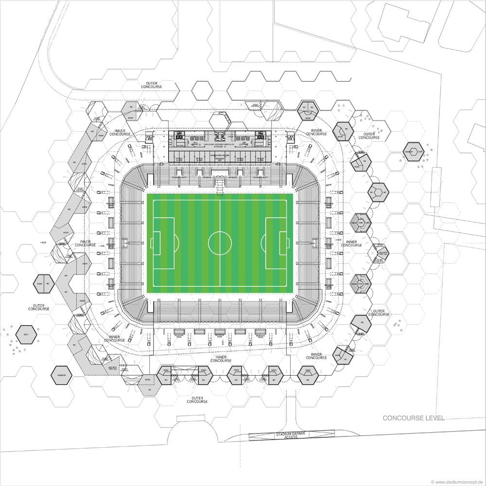New Bursa Stadium (Hexagon Park) / stadiumconcept