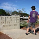SkateSign Skatepark Sign © Rural Studio
