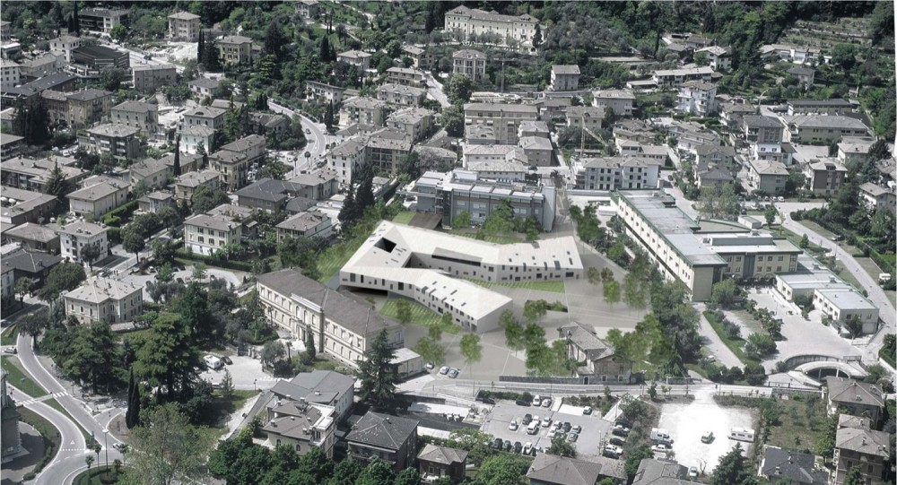 Re-Development of the Former Hospital/ the New Housing City / ATENASTUDIO + 3TI PROGETTI ITALIA + KREJ ENGINEERING