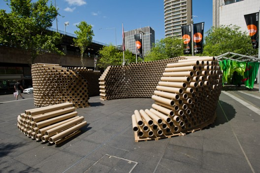 Roll Play ? Temporary Pavilion for The Sydney Architecture Festival