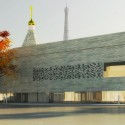 Cultural and Spiritual Russian Orthodox Center in Paris / DATA Architectes Courtesy DATA Architectes